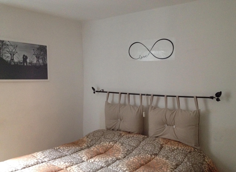 Testiera testata del letto con i cuscini handmade - Testiera letto originale ...